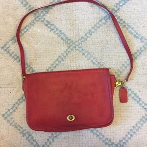Coach Bags - Vintage Red Coach Bag